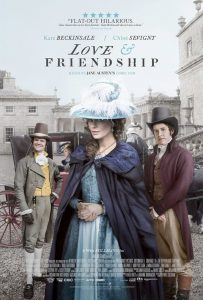 Love & Friendship movie review by ChickFlick-Database.com romantic chickflick