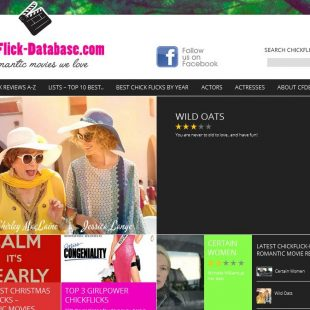NEW Design ChickFlick-Database.com